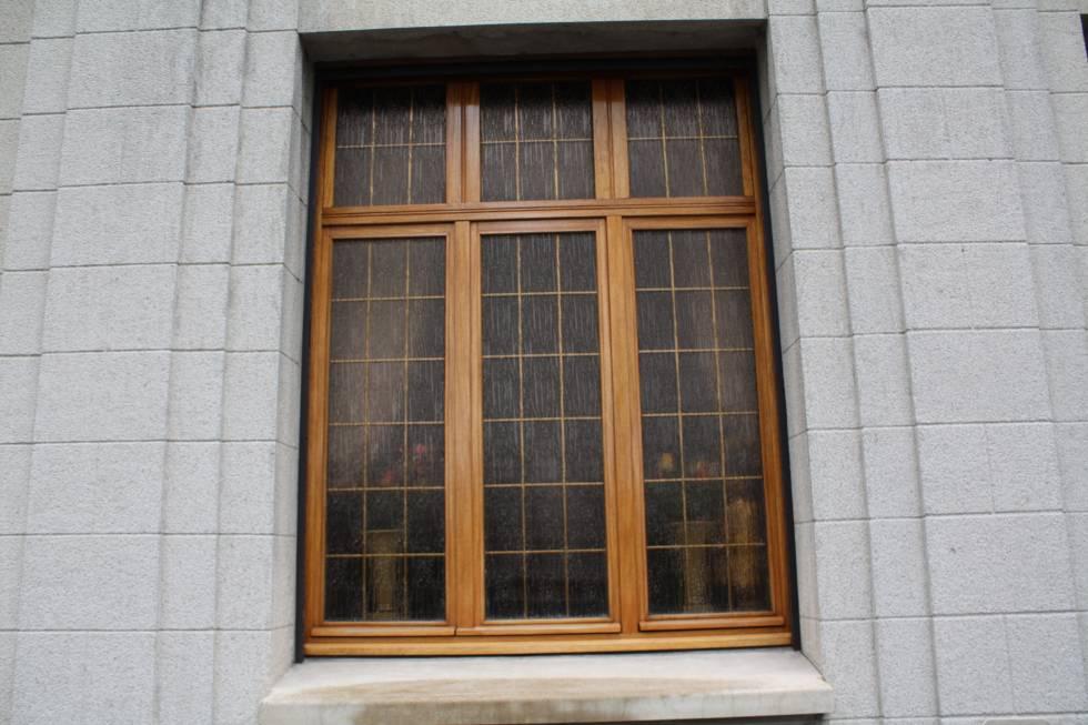 fenêtre petits bois laiton