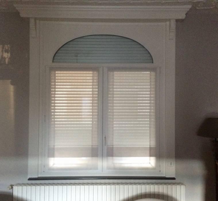 fenêtres bois vue intérieure